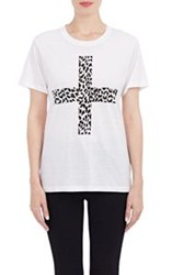 Thakoon Addition Angry Leopard T Shirt Colorless