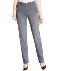Lee Platinum Gwen Classic Fit Straight Leg Jeans Domino Wash
