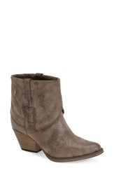 Women's Mia 'Gambit' Bootie Taupe Faux Leather