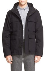 Saturdays Surf Nyc Men's 'M 65' Hooded Utility Jacket