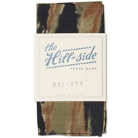 The Hill Side Cotton Ripstop Pocket Square Bleeding Tiger Camo