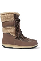 Moon Boot Monaco Mid Shell Brown