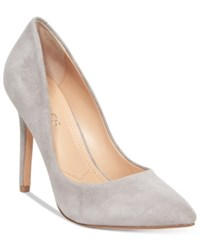 Charles By Charles David Pact Pumps Women's Shoes Stone Gray Suede