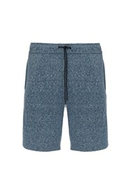 Onia Saul Terry Towelling Shorts Navy