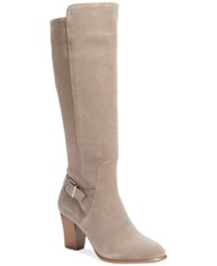 Alfani Careeni Wide Calf Dress Boots Only At Macy's Women's Shoes Ash