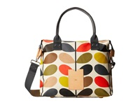 Orla Kiely Matt Laminated Classic Multi Stem Zip Messenger Multi Messenger Bags