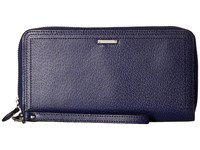 Lodis Stephanie Rfid Under Lock Key Vera Wristlet Wallet Midnight Wallet Handbags Navy