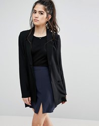 Only Money Corn Blazer Black