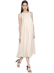 Lanvin Pleated And Flared Cady Dress