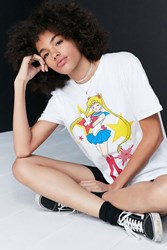 Urban Outfitters Sailor Moon Tee White
