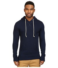 Publish Index Palo Knit Hoodie Dark Indigo Men's Sweatshirt Blue