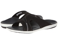 Spenco Tori Slide Charcoal Women's Slide Shoes Gray