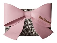 Betsey Johnson Big Bow Chic Large Bow Clutch Blush Clutch Handbags Pink