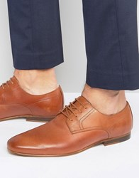 Zign Leather Lace Up Shoe Tan
