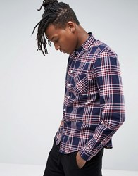 Another Influence Check Shirt Red