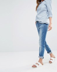 Blend She Boyfriend Cherrie Jeans Light Blue Denim
