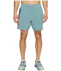 New Balance 7 Stretch Woven Short Typhoon Men's Shorts Navy