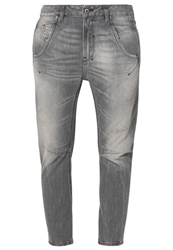 Diesel Fayza Relaxed Fit Jeans 0831F Grey Denim