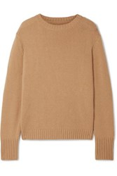 Re Done 40S Wool And Cashmere Blend Sweater Camel