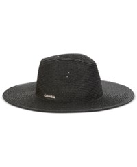 Calvin Klein Sequined Sun Hat Black