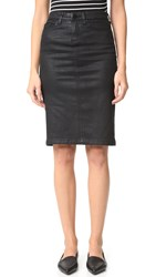 Blank Vegan Leather Skirt All Lacquered Up