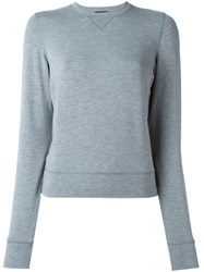 Dsquared2 Underwear Crew Neck Sweatshirt Grey