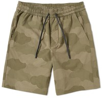 A.P.C X Outdoor Voices A.P.C. Gym Short Green