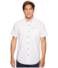 Rip Curl Ourtime Short Sleeve Shirt White Men's Clothing