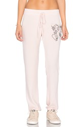 Lauren Moshi Willow Sweatpant Pink