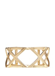Philippe Audibert Cutout Cross Cuff Metallic
