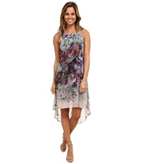 Karen Kane Floral Hi Lo Maxi Dress Print Women's Dress Multi
