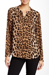 Daniel Rainn Animal Print Blouse Multi