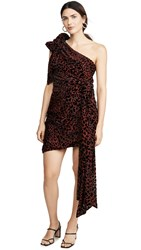Misha Collection Moxie Dress Red Leopard