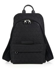 Mcq By Alexander Mcqueen Textured Polyester Backpack Black
