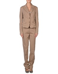 Galliano Women's Suits Khaki