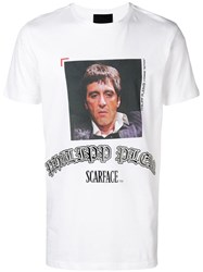 Philipp Plein Scarface T Shirt White