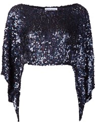 Sonia Rykiel Sequin Embellished Blouse Black