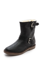 Madewell The Casey Shearling Boots True Black
