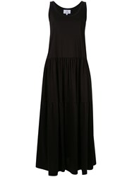 Ck Calvin Klein Sleeveless Maxi Dress Black