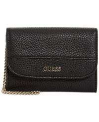 Guess Katiana Double Date Boxed Wallet A Macy's Exclusive Style Black