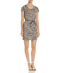 Scotch And Soda Belted Floral Print Dress Combo T