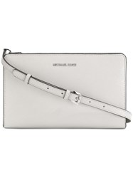 Michael Michael Kors Jet Set Crossbody Clutch Nude Neutrals