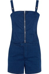 3X1 Stretch Denim Playsuit Dark Denim