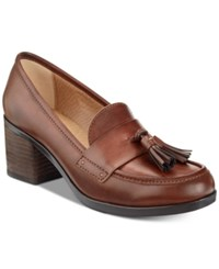Bare Traps Ziloh Slip On Moccasins Women's Shoes Brush Brown