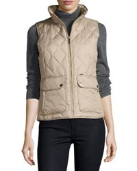 Michael Michael Kors Diamond Quilted Puffer Vest Black