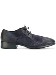 Marsell Lace Up Shoes Leather Suede Blue