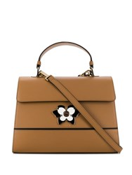 Furla Mughetto Tote Bag Brown
