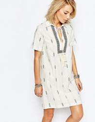 Deby Debo Banadana Boho Dress Boho Dress Cream