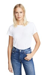 Nation Ltd. Ltd Marie Recycled Cotton Crop Tee White