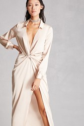 Forever 21 Twist Front Maxi Dress